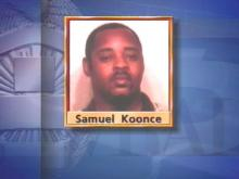 Raleigh police say Samuel Koonce tried to rob the Old Garner Grocery store early Friday morning. The store clerk was able to detain Koonce until police arrived.(WRAL-TV5 News)