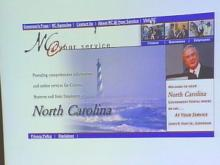 North Carolina Is 'At Your Service' With New Web Site