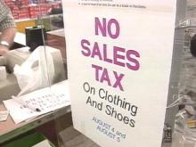 S.C. Shoppers Stock Up On Savings With Sales Tax Holiday