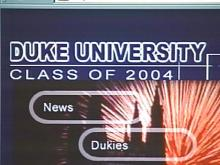 Duke Freshmen Meet on Web Before Meeting in Person