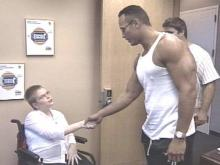 Harnett County Teenager Gets Her Wish: A Chance To Meet WWF's The Rock