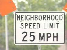 Fayetteville residents on Hastings Drive want motorists to slow down. Next week, Fayetteville police will closely monitor traffic in the neighborhood next week.(WRAL-TV5 News)