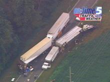Three Tractor-Trailers Involved in Fatal Sampson County Wreck