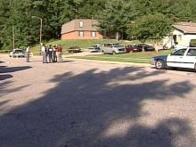 A teenager was shot at an apartment complex off of Quail Hollow Drive.(WRAL-TV5 News)