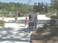 A Cary car dealership wants to use land adjacent to the Kids Together Playground.(WRAL-TV5 News)