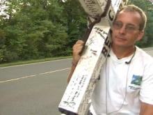 Man Heads Across North Carolina With Special 'Cross' To Bear