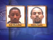 Bobby McArthur, 24, Jimmy Banks, 22, were arrested Thursday, along with a juvenile in the beating of Kurt Collier during Benson's Mule Days festival.(WRAL-TV5 News)