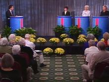 The three candidates for lieutenant governor gathered in Raleigh to debate Wednesday.(WRAL-TV5 News)
