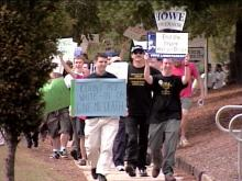 Protesters Want Write-in Votes Counted