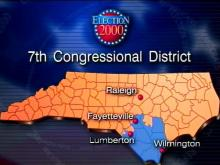 The Seventh Congressional District runs from Fayetteville to the coast.(WRAL-TV5 News)