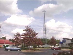 Residents of Moore County are worried that a cell phone tower will ruin the aesthetic quality of the community.(WRAL-TV5 News)