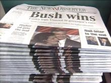 Stop the Presses! Election Roller Coaster Makes Newspaper Publishers Wince
