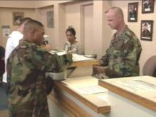 Despite the election controversy, there was no problem at Fort Bragg getting thousands of soldiers to cast absentee ballots.(WRAL-TV5 News)