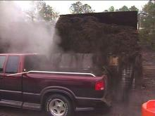 The town of Cary is giving away free mulch.(WRAL-TV5 News)