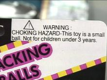 Read the warning labels before considering a toy purchase.(WRAL-TV5 News)