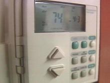 As the temperature drops outside, your thermostat inside usually goes up as well as your heating bill. There are some ways you can keep the cost down while you stay warm.(WRAL-TV5 News)