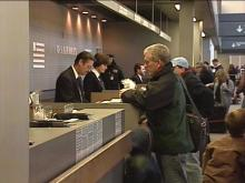 Many travelers took flight early to beat the holiday rush.(WRAL-TV5 News)
