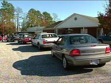 Erwin Residents Line Up as Boy Provides Thanksgiving Meals