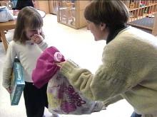 The Hager family tried to make hospital stays a little easier with their gift bags.(WRAL-TV5 News)