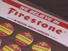 Firestone is rolling into the holidays with a massive support campaign from the Wilson Chamber of Commerce. The tire plant in Wilson came under fire during the company's massive recall this summer.(WRAL-TV5 News)