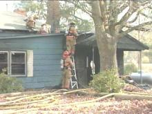 The holidays got off to a rough start for one Fayetteville family. Their house caught on fire Thursday morning, leaving them and their eight childen without a place to call home.(WRAL-TV5 News)