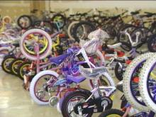 There are still lots of bikes to give away; nonetheless, a robbery netted nearly two dozen.(WRAL-TV5 News)