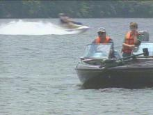 The Raleigh City Council is considering an all-out ban or simply reducing the use of power boats on Lake Wheeler.(WRAL-TV5 News)
