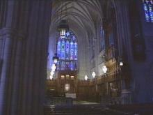 Duke University officials decided Tuesday to allow same-sex unions to take place at Duke Chapel.(WRAL-TV5 News)