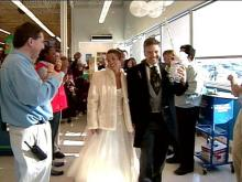 Cary Bridal Couple Walks Down Aisles to Help Needy Children