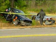 One woman died and six other people were injured when a pick-up ran a stop sign.(WRAL-TV5 News)