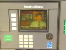 Gas pumps are hooking up to space and cyberspace. Pumps at one north Raleigh gas station dish out CNN Headline News while you fill up.(WRAL-TV5 News)