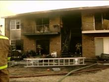 Sixteen apartment units were either damaged or destroyed.(WRAL-TV5 News)