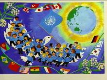 Young Artists Promote Peace through Art