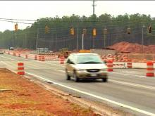 The Triangle is about to get its first single-point urban interchange along I-540.(WRAL-TV5 News)
