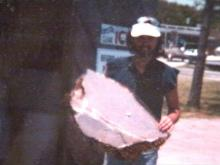 One of Rogers' photographs of the Challenger debris.(WRAL-TV5 News)