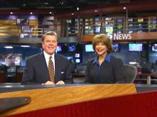WRAL began broadcasting from its new all-digital newsroom Sunday, becoming the world's first HDTV newsgathering operation.
