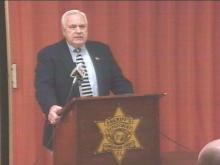 Community Leaders Show Their Support To Embattled Sheriff