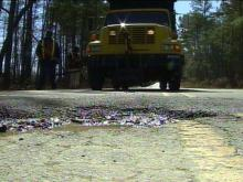 The DOT pothole patchers have as much as they can handle, but the engineers are working on ideas to save time and tax dollars. They are talking about preventative maintenance.(WRAL-TV5 News)