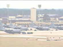 Planes are taking off from Pope Air Force Base this week, but not on a mission. The base is moving them to other locations.(WRAL-TV5 News)