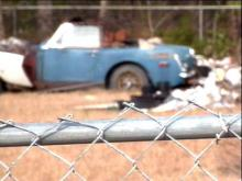 Some Fayetteville residents say that the city should do more about junkyards in backyards.(WRAL-TV5 News)