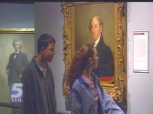 "A new exhibit at the North Carolina Museum of History in Raleigh captures the ""face"" of the past.(WRAL-TV5 News)"