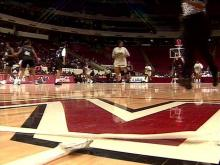 CIAA legends took to the court for a game Saturday.(WRAL-TV5 News)