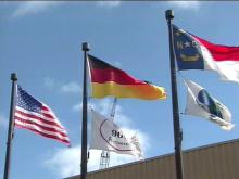 In the current economic slowdown, foreign companies are expanding Triangle operations.(WRAL-TV5 News)