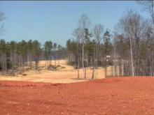 Davis Love III has broken ground on a new golf course in Chatham County. He plans to turn these rolling hills into rolling greens.(WRAL-TV5 News)