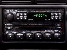 The Visteon MACH in-dash MP3 player.(WRAL-TV5 News)