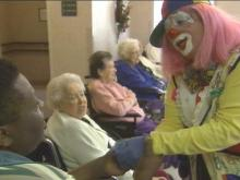 Apex Woman Provides Comfort Through Clowning