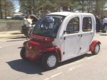 The Triangle Clean Cities Coalition is pushing alternative fuel vehicles.(WRAL-TV5 News)
