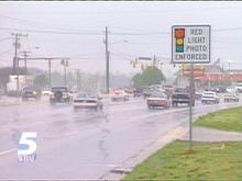 Thirteen North Carolina cities are already using traffic cameras.(WRAL-TV5 News)