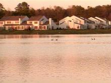 Lake Kildaire is partially full, after recent heavy rains.(WRAL-TV5 News)