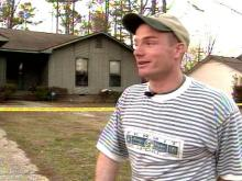Ballew rescued his neighbor's daughter from a house fire.(WRAL-TV5 News)